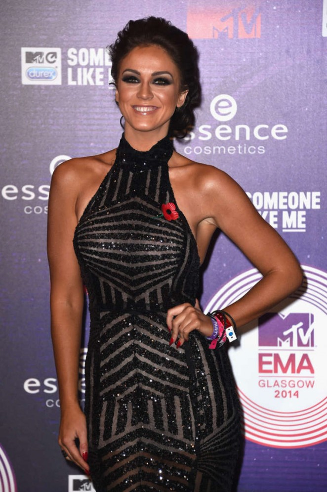 Vicky Pattison - 2014 MTV Europe Music Awards 2014 in Glasgow