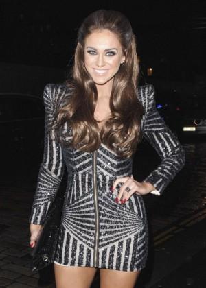 Vicky Pattison at MTV EMA's Press Dinner in Glasgow