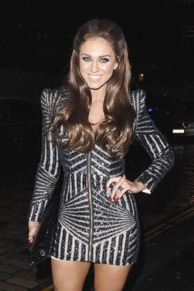 Vicky Pattison at MTV EMA's Press Dinner in Glasgow