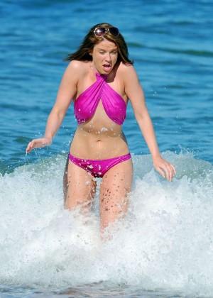 Vicky Pattison Bikini Photos: In Marbella -01