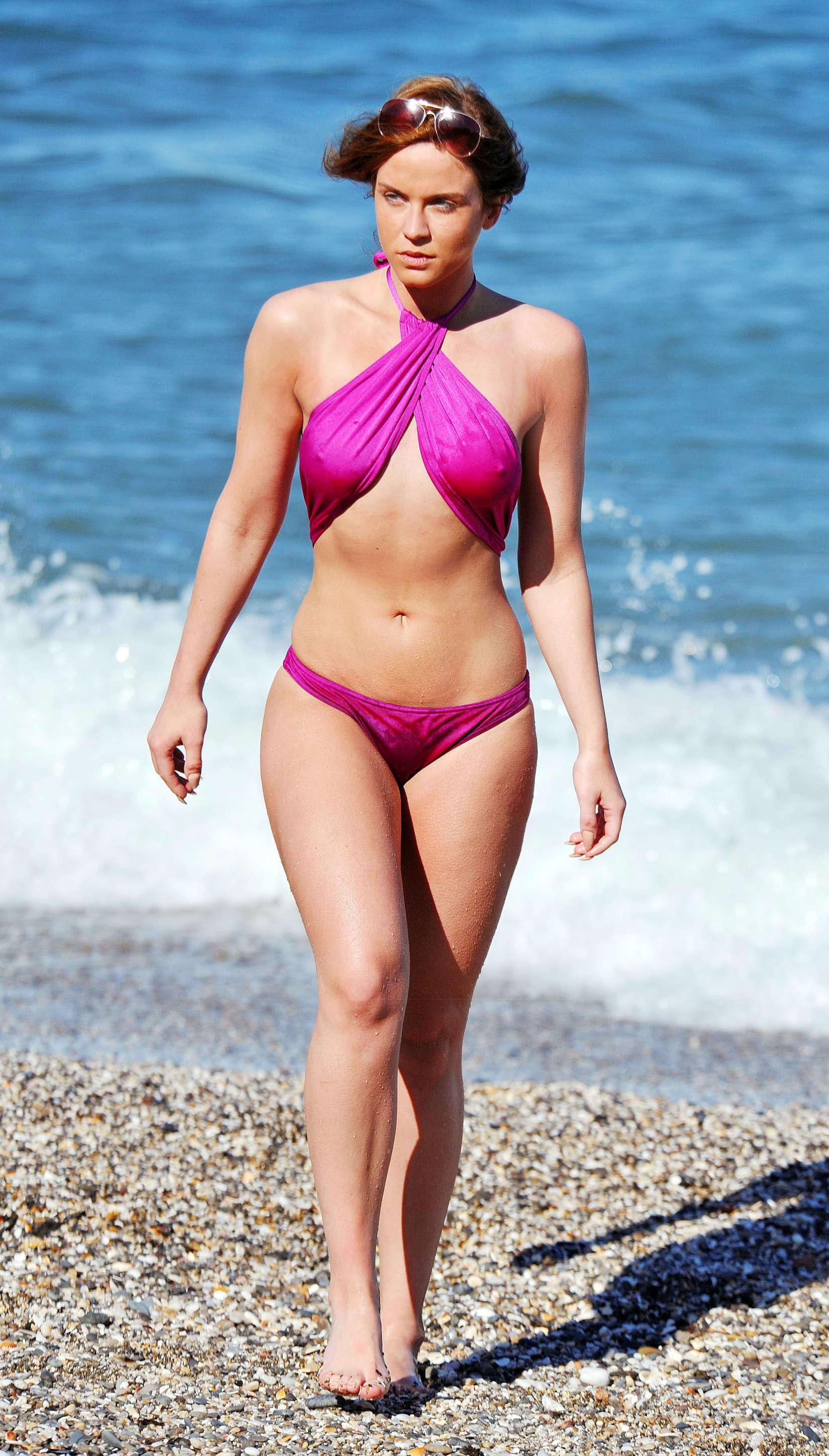Vicky Pattison 2014 : Vicky Pattison Bikini Photos: In Marbella -05