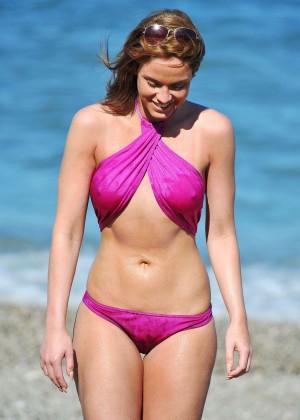Vicky Pattison Bikini Photos: In Marbella -15