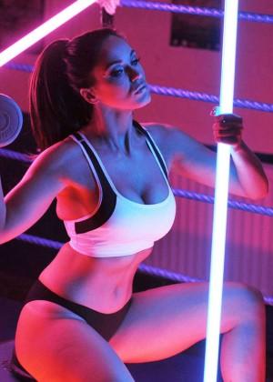 Vicky Pattison in Sports Bra -05