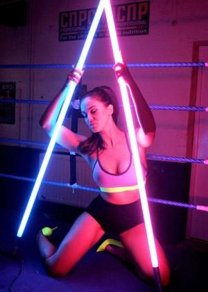 Vicky Pattison in Sports Bra -16
