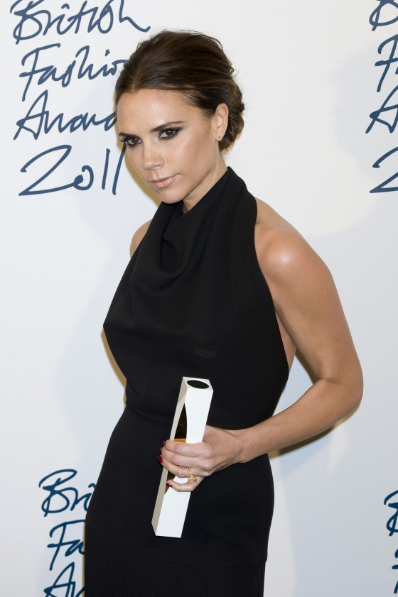 Victoria Beckham – Hot at 2011 British Fashion Awards in London-02
