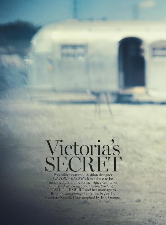 Victoria Beckham – Vogue Australia Magazine – September 2013 -02