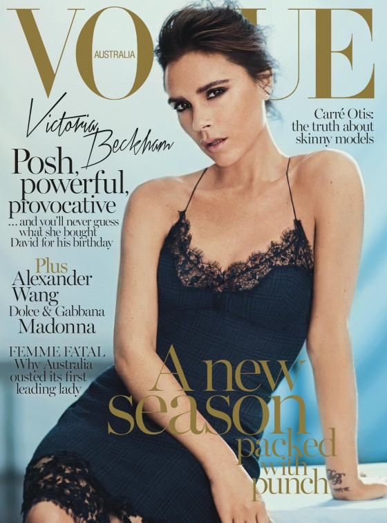 Victoria Beckham - Vogue Australia Magazine - September 2013 -03