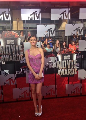 Victoria Justice: 2014 MTV Movie Awards -01