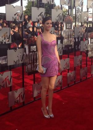 Victoria Justice: 2014 MTV Movie Awards -03