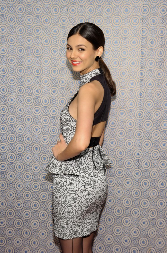 Victoria Justice – 2013 fashion show in NYC-02