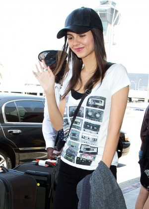 Victoria Justice at LAX Airport -16