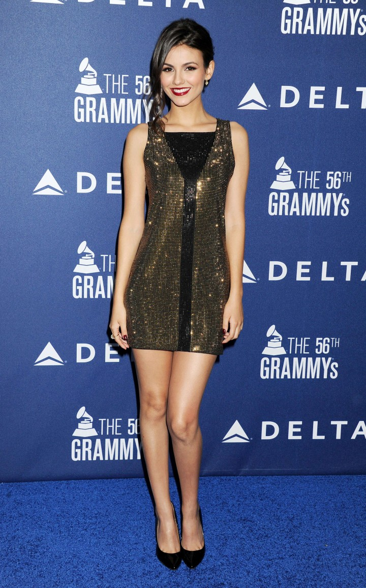 Victoria Justice: 2014 Grammy Weekend Reception -09 - GotCeleb