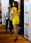 Victoria Justice - In yellow dress at Fun Size premiere in LA