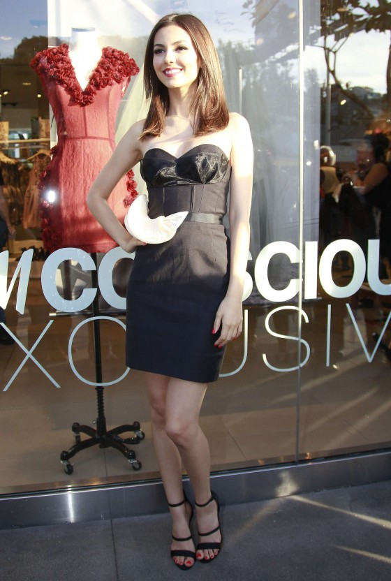 Victoria Justice – HM Conscious Collection Launch -01