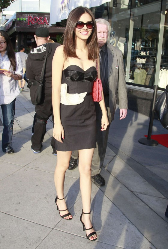 Victoria Justice – HM Conscious Collection Launch -04