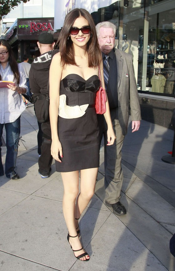 Victoria Justice – HM Conscious Collection Launch -05