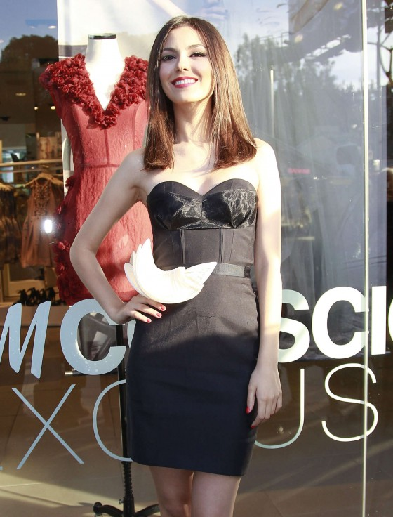 Victoria Justice – HM Conscious Collection Launch -07