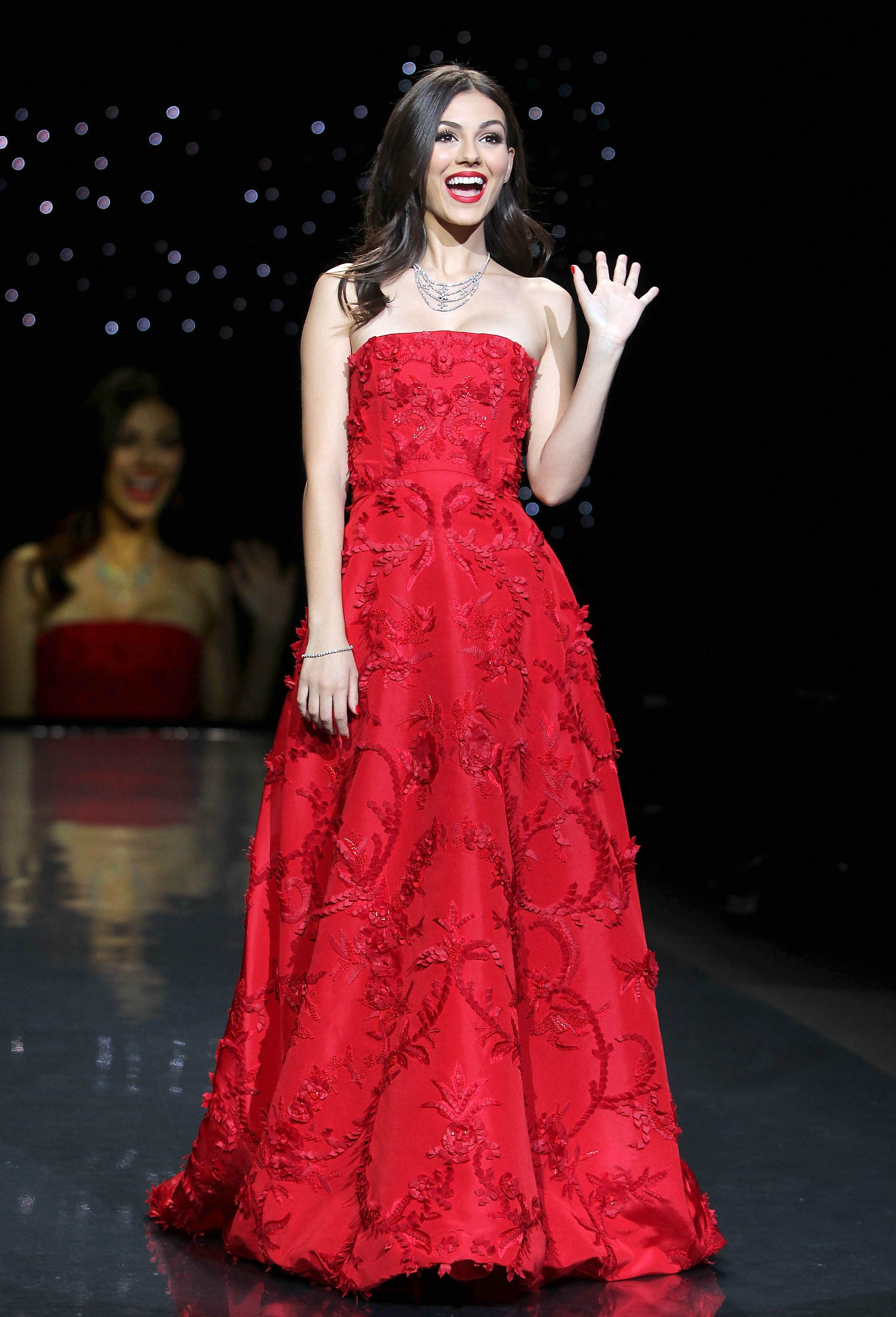 Victoria Justice: 2014 Red Dress Fashion Show -03