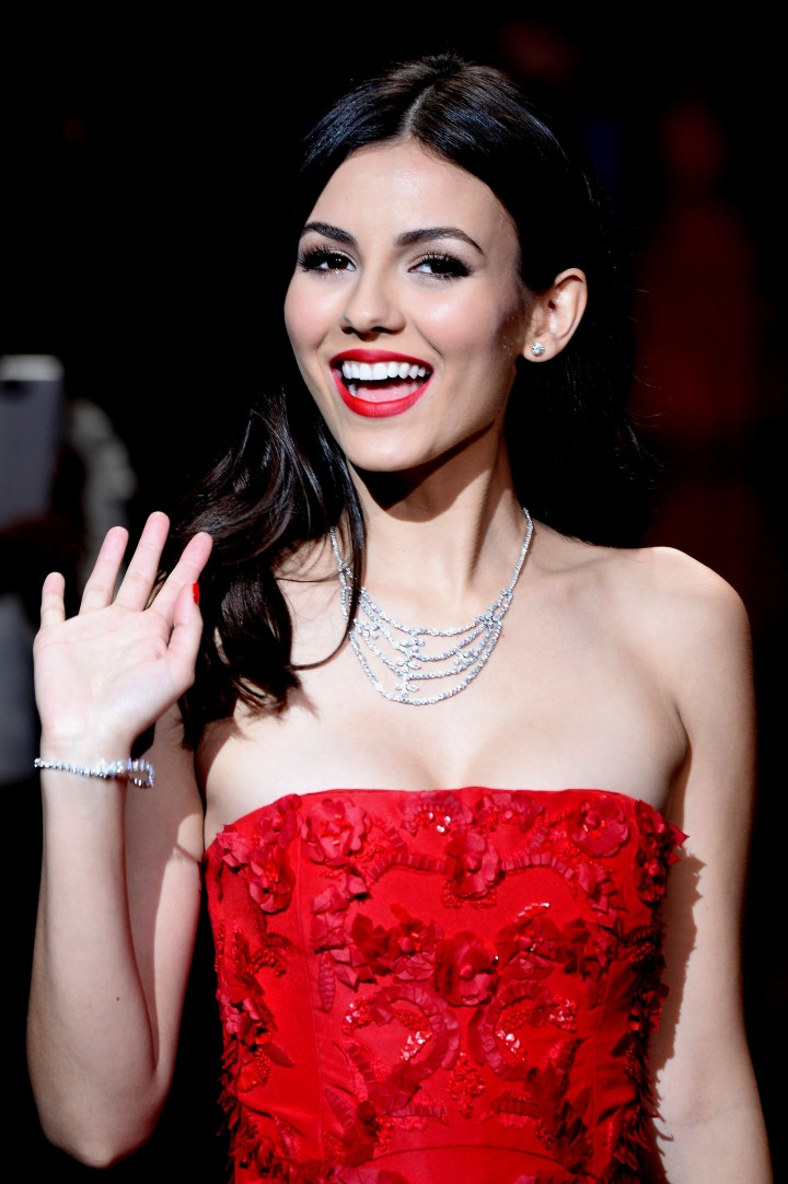 Victoria Justice: 2014 Red Dress Fashion Show -04