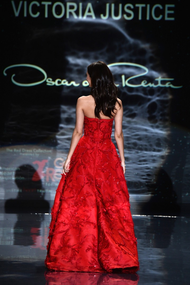 Victoria Justice: 2014 Red Dress Fashion Show -11