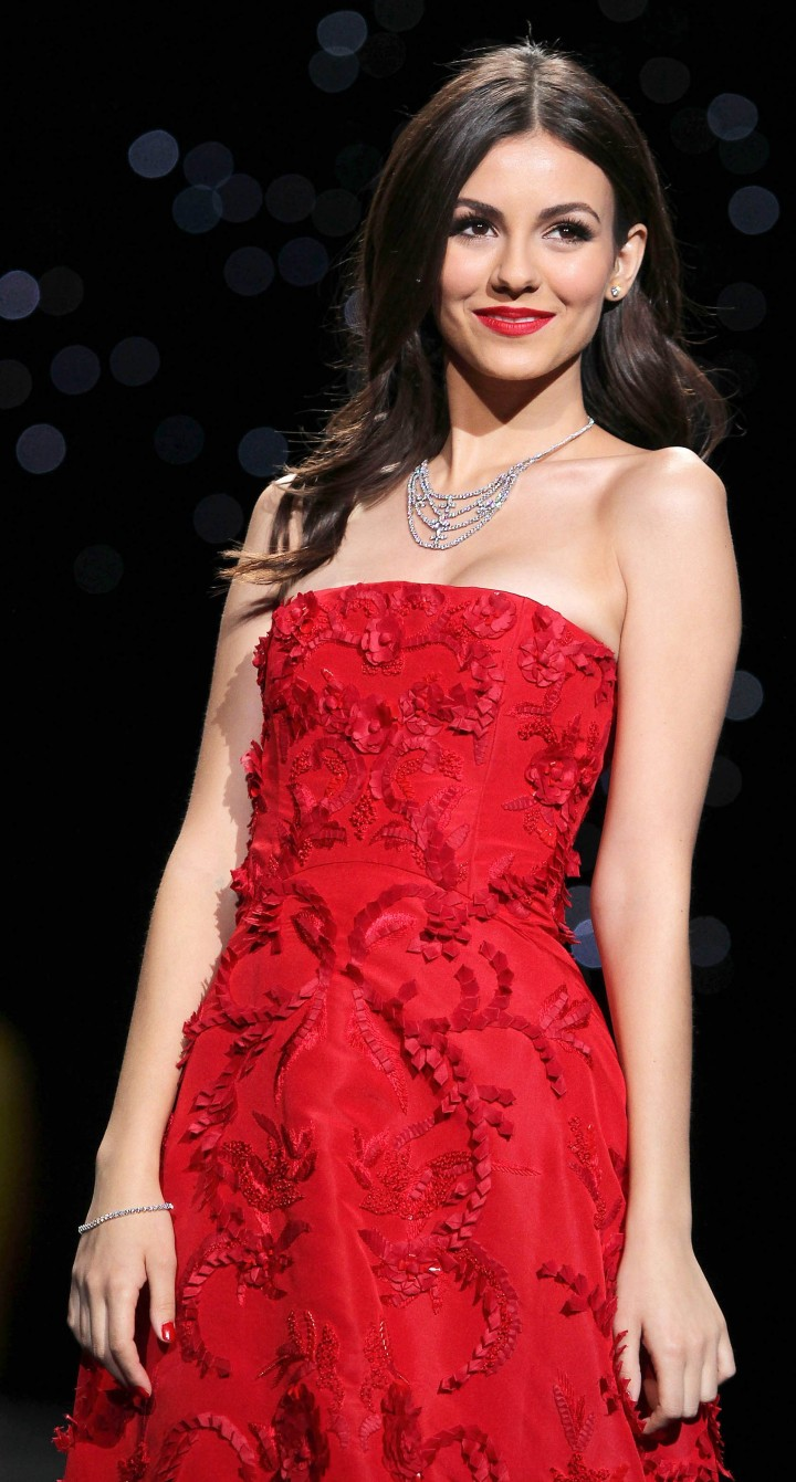 Victoria Justice: 2014 Red Dress Fashion Show -12