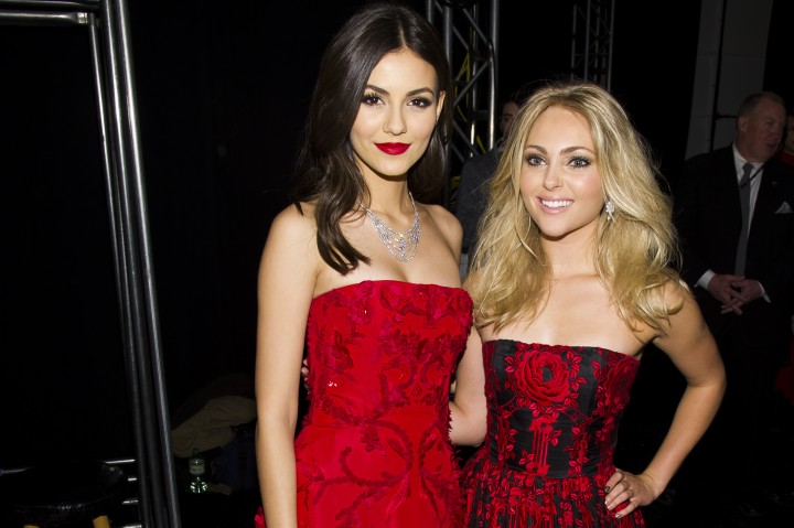 Victoria Justice: 2014 Red Dress Fashion Show -13