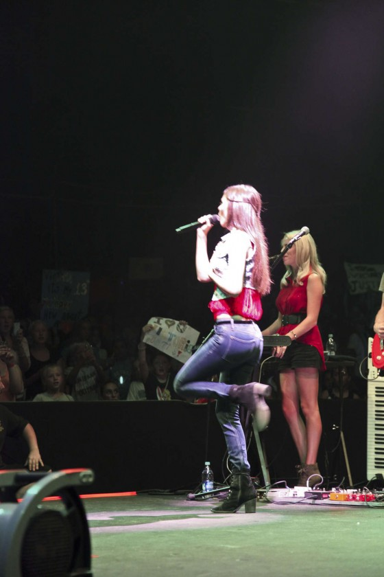 Victoria Justice - Performing at South Shore Music Circus 2012