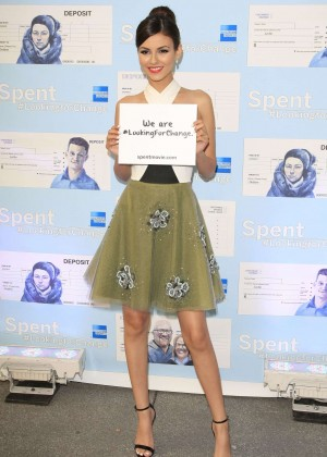 Victoria Justice - Spent: Looking for Change Premiere -01
