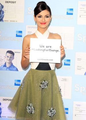 Victoria Justice - Spent: Looking for Change Premiere -02