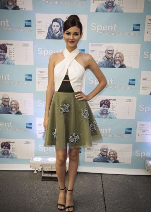 Victoria Justice - Spent: Looking for Change Premiere -06