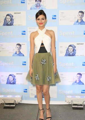 Victoria Justice - Spent: Looking for Change Premiere -08