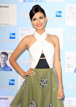 Victoria Justice - Spent: Looking for Change Premiere -11