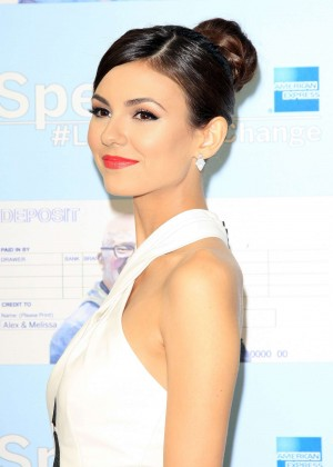 Victoria Justice - Spent: Looking for Change Premiere -12