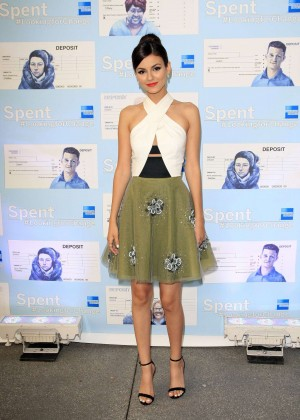 Victoria Justice - Spent: Looking for Change Premiere -13