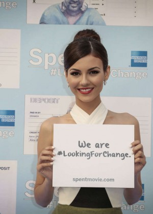 Victoria Justice - Spent: Looking for Change Premiere -15