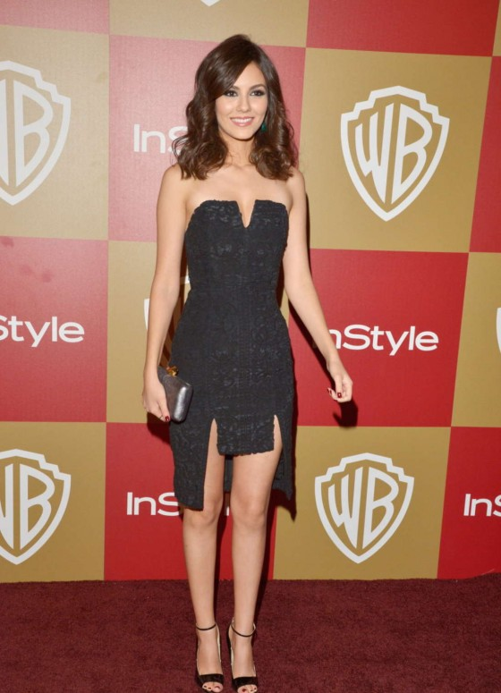 Victoria Justice - Warner Bros InStyle Golden Globes Party in Beverly Hills 2013
