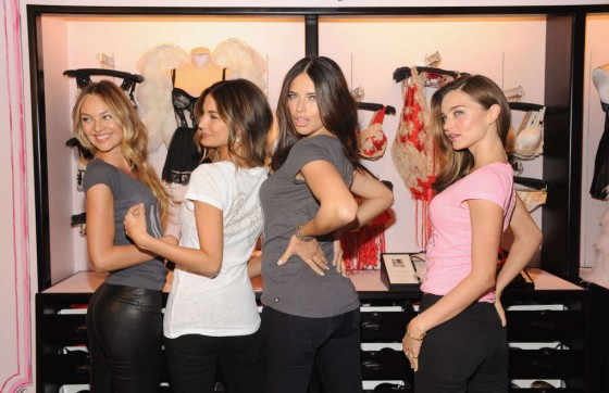Victorias Secret Angels – Holiday 2012 celebration in New York-03