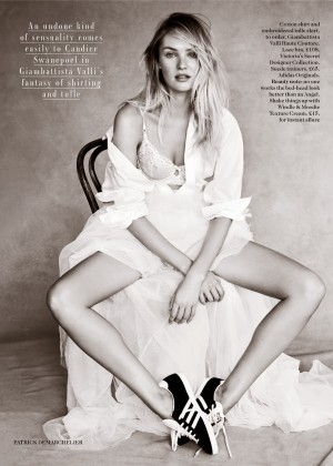 Candice Swanepoel: Vogue UK 2014 -01
