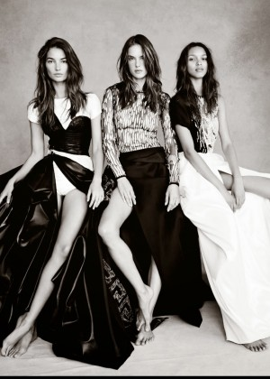 Victoria's Secret Angels - Vogue UK (November 2014)