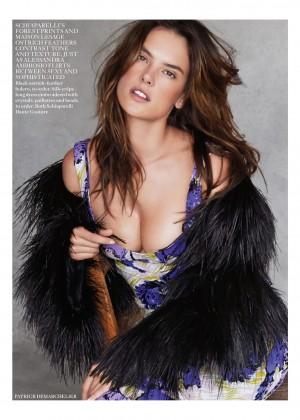Candice Swanepoel: Vogue UK 2014 -07