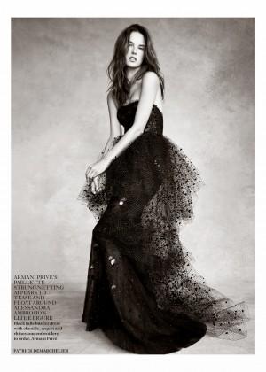 Candice Swanepoel: Vogue UK 2014 -10