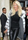 Victoria Silvstedt at Cipriani restaurant in New York