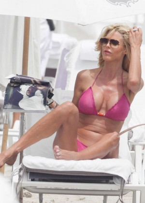 Victoria Silvstedt Bikini Pics: 2014 Miami -09