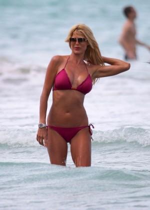Victoria Silvstedt Bikini Pics: 2014 Miami -18