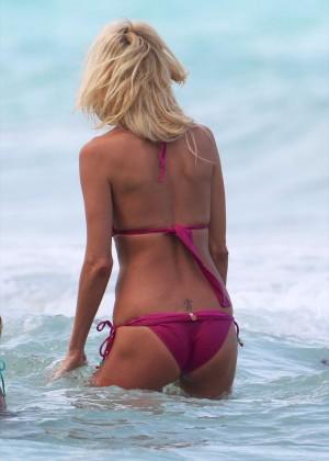 Victoria Silvstedt Bikini Pics: 2014 Miami -22
