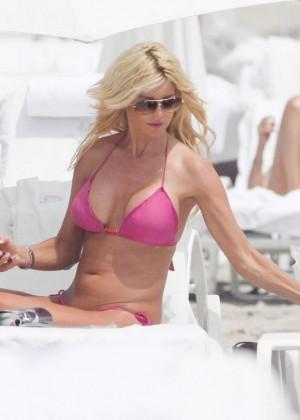Victoria Silvstedt Bikini Pics: 2014 Miami -23