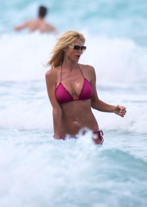 Victoria Silvstedt Bikini Pics: 2014 Miami -24
