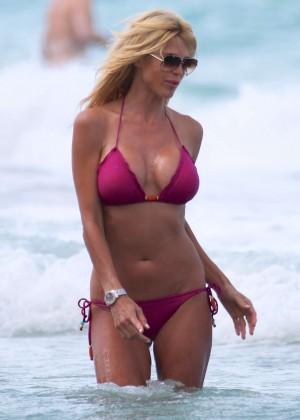 Victoria Silvstedt Bikini Pics: 2014 Miami -26