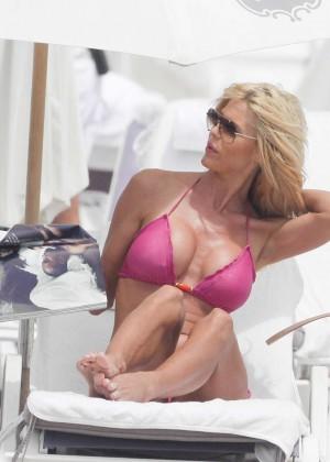 Victoria Silvstedt Bikini Pics: 2014 Miami -30