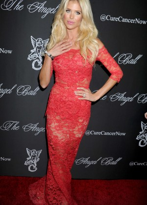 Victoria Silvstedt - Gabrielle's Angel Foundation Angel Ball 2014 in NYC